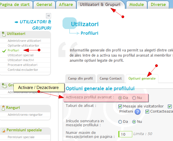 Noi functionalitati: sistem de reputatie, de puncte, anunturi, citate multiple, etc Prof_a12