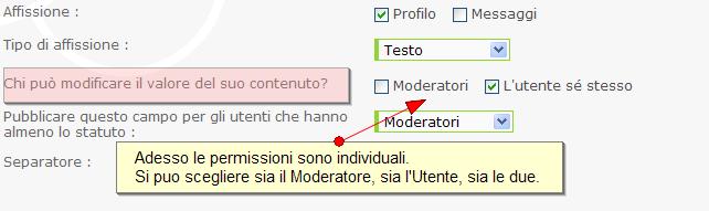 Nuove funzionalità: sistema di punti, di reputazione, annunci, citazioni multiple, ecc.. Profil21
