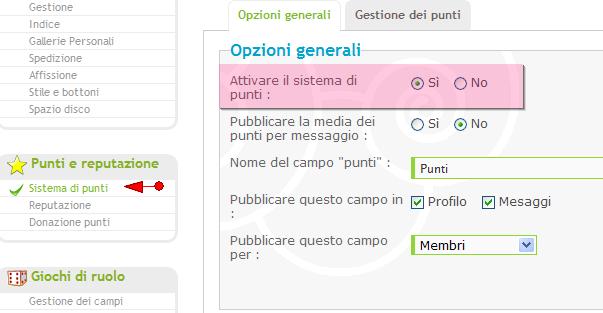 Nuove funzionalità: sistema di punti, di reputazione, annunci, citazioni multiple, ecc.. Punti10