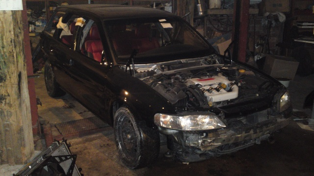 """""""Renovierung"""" eines Vectra B i30 Vectra14"""