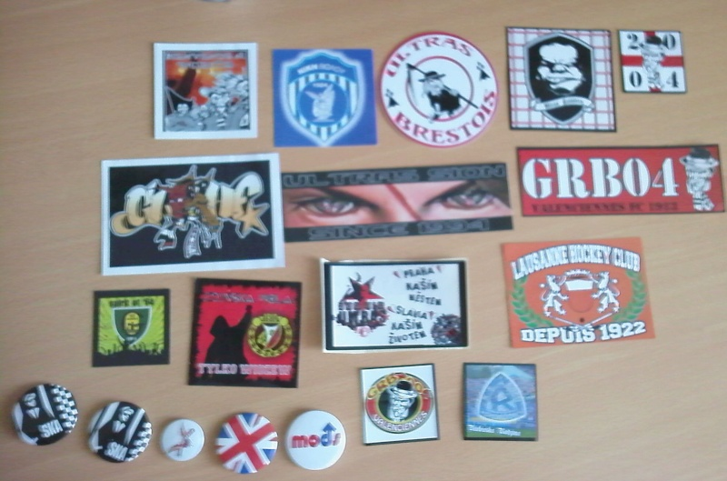 [Ech.] Divers Stickers & Badges Mods/Ska/Cock Sparrer Sans_t13