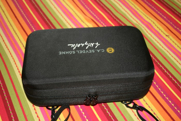 Nouvelle saccoche pour harmo chez Seydel Portra10