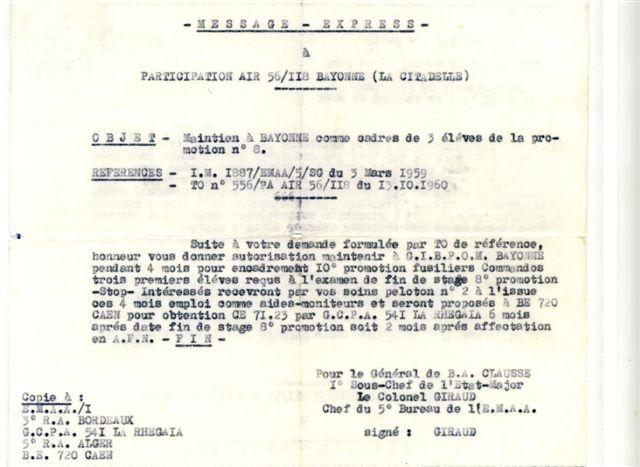 LE PUTSCH  21 AVRIL 1961- Récit d'un commando du 40 - Page 4 Pl_1_e10