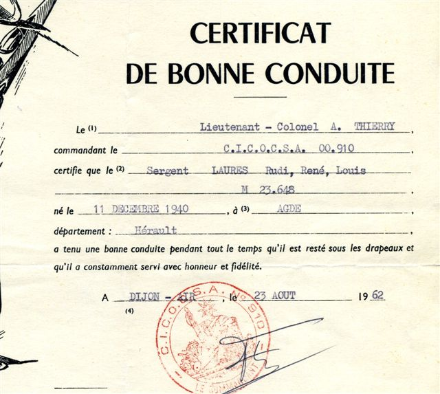 LE PUTSCH  21 AVRIL 1961- Récit d'un commando du 40 - Page 4 Pl_1_e11