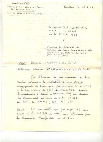 LE PUTSCH  21 AVRIL 1961- Récit d'un commando du 40 - Page 4 Rasila12