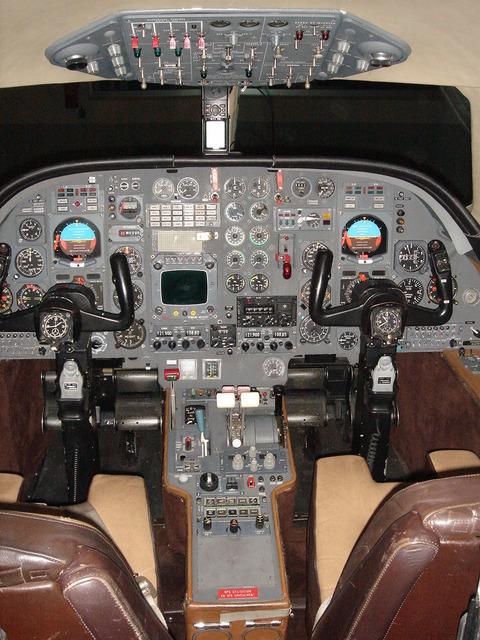 Dassault Falcon 10 - Revell -1/48 Dsc02310
