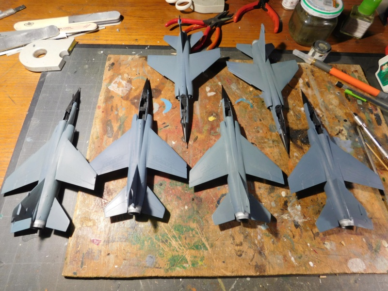 Les  Mirage F1 dans les ateliers Fouga Dscn1710