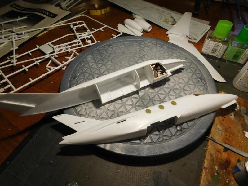 Dassault Falcon 10 - Revell -1/48 Dscn1827