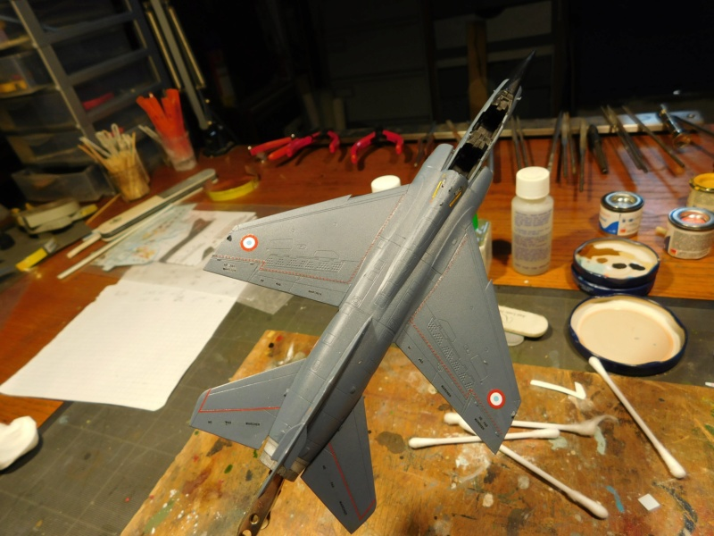 Les  Mirage F1 dans les ateliers Fouga Dscn1833