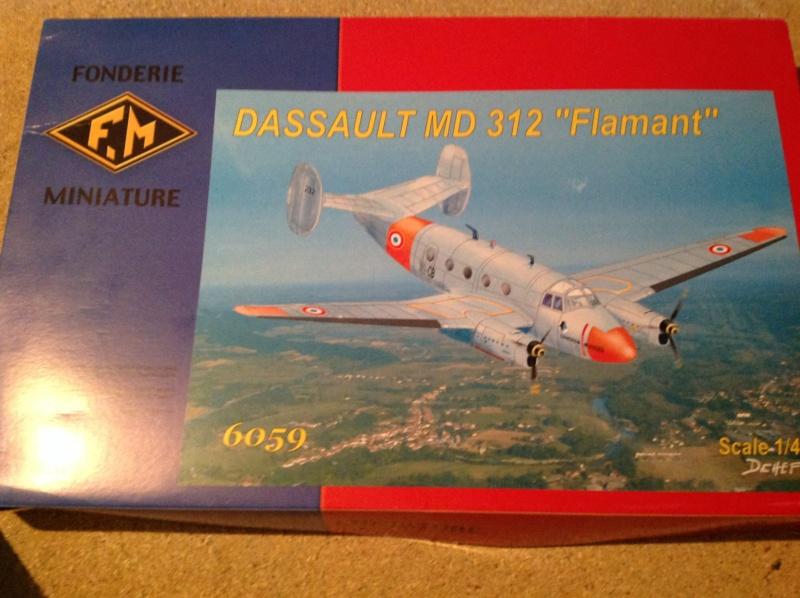 "Défi inconfortable : Dassault MD-312 ""Flamant"" (Fonderie Miniature 1/48) Img_0271"