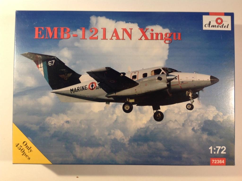 Ouvre boite EMB 121 IAN Xingu (Amodel 1/72) Img_0321