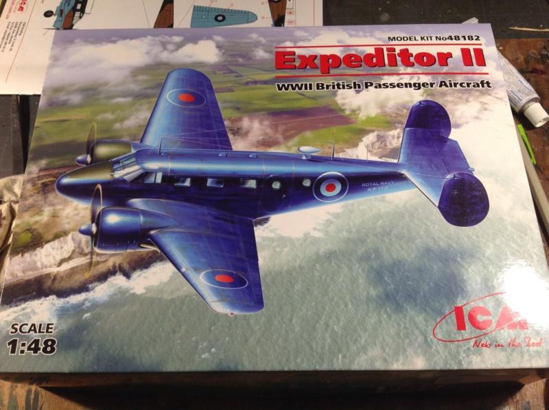 "Fil rouge 2019 : Beechcraft ""Expeditor"" ICM 1/48 *** Terminé en pg 2 Img_0516"