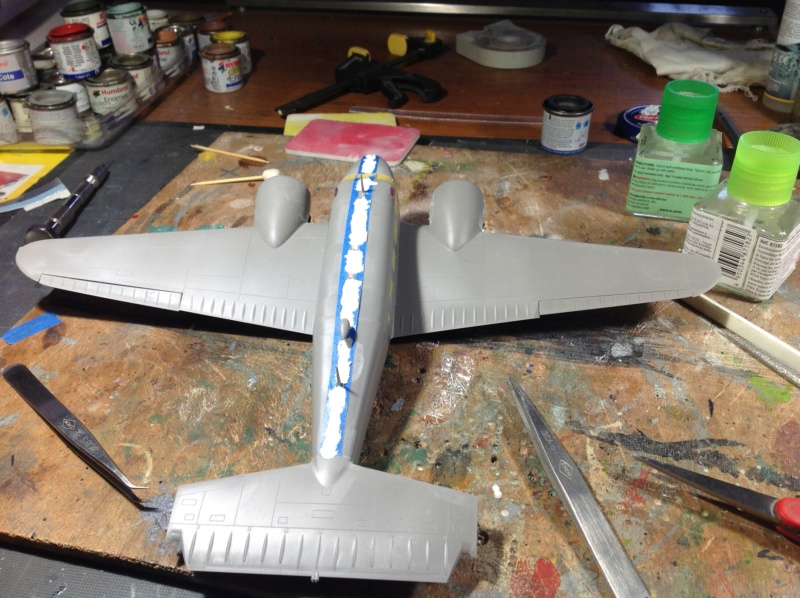 "Fil rouge 2019 : Beechcraft ""Expeditor"" ICM 1/48 *** Terminé en pg 2 Img_0528"