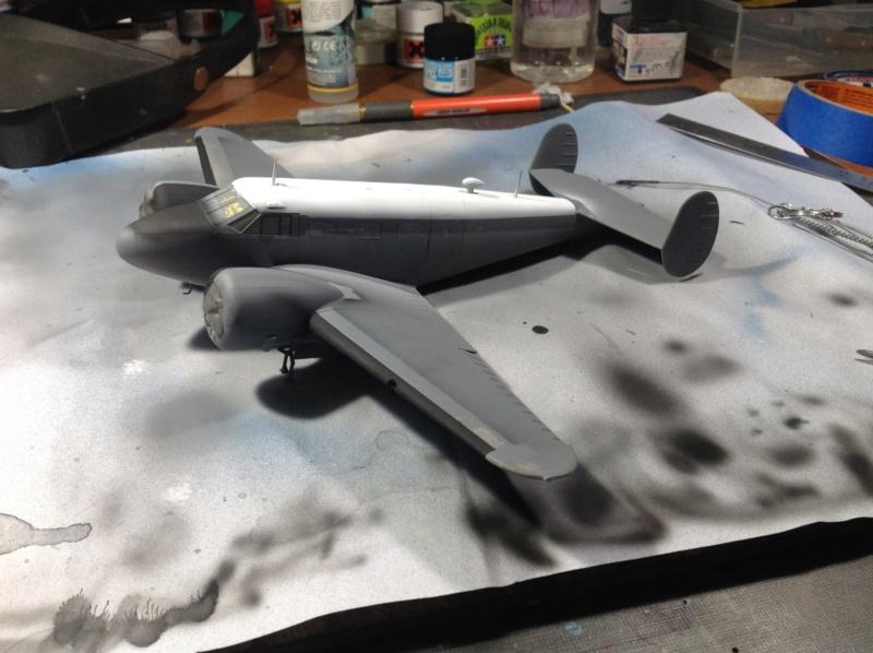 "Fil rouge 2019 : Beechcraft ""Expeditor"" ICM 1/48 *** Terminé en pg 2 Img_0535"