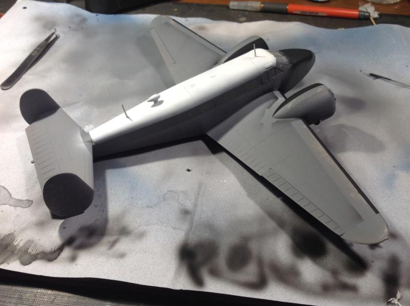 "Fil rouge 2019 : Beechcraft ""Expeditor"" ICM 1/48 *** Terminé en pg 2 Img_0536"