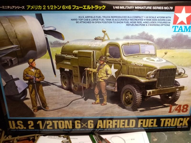 US 2 1/2 ton 6x6 airfield fuel truck _ Tamiya ech 1/48 Img_2036