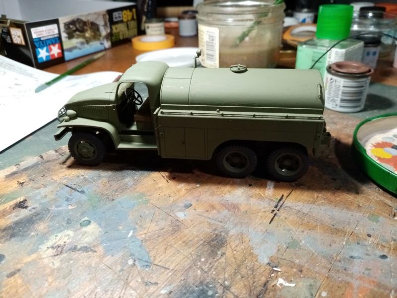 US 2 1/2 ton 6x6 airfield fuel truck _ Tamiya ech 1/48 Img_2038