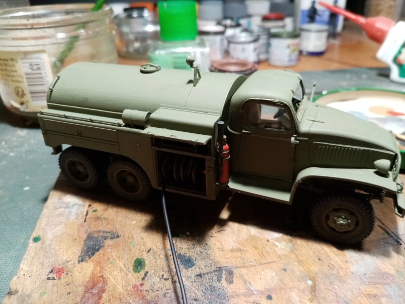 US 2 1/2 ton 6x6 airfield fuel truck _ Tamiya ech 1/48 Img_2039
