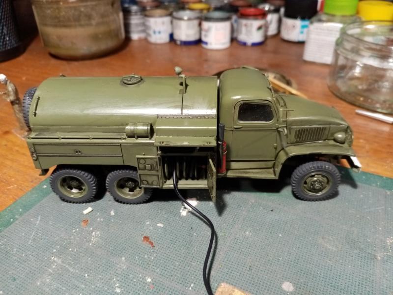 US 2 1/2 ton 6x6 airfield fuel truck _ Tamiya ech 1/48 Img_2041