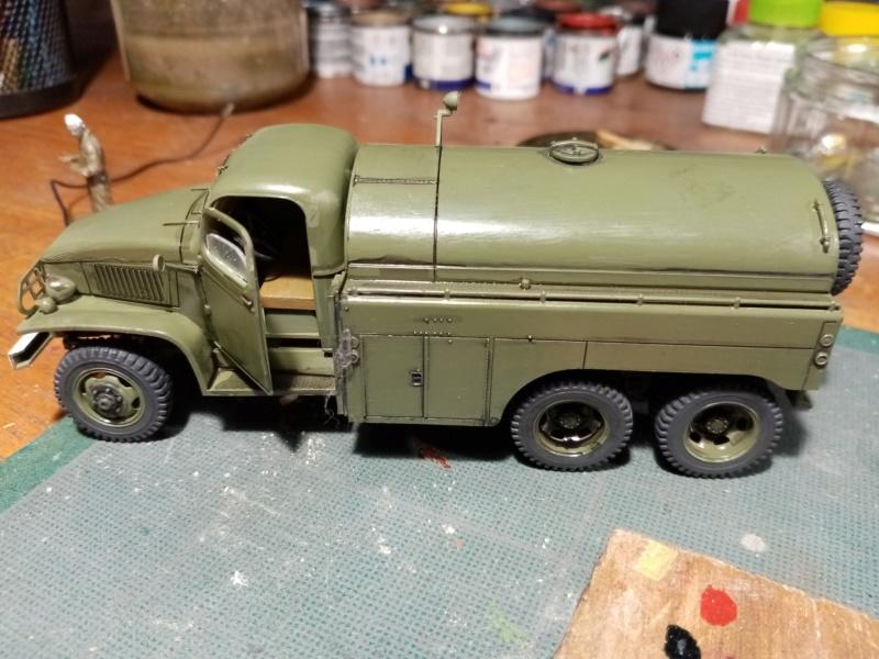 US 2 1/2 ton 6x6 airfield fuel truck _ Tamiya ech 1/48 Img_2042