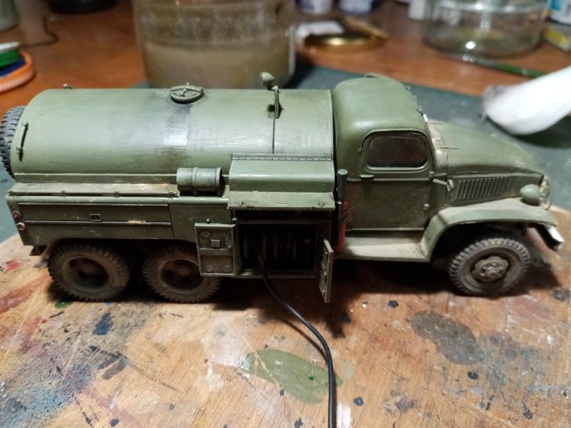 US 2 1/2 ton 6x6 airfield fuel truck _ Tamiya ech 1/48 Img_2046
