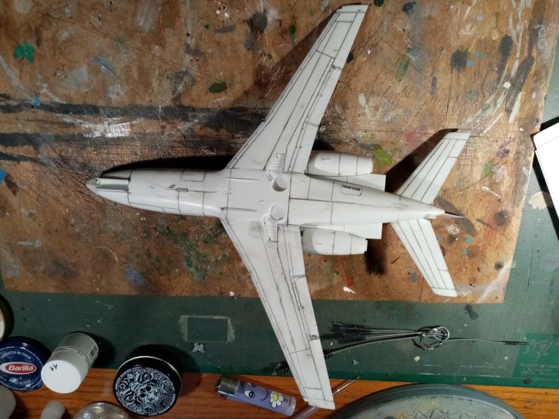 Dassault Falcon 10 - Revell -1/48 Img_2080