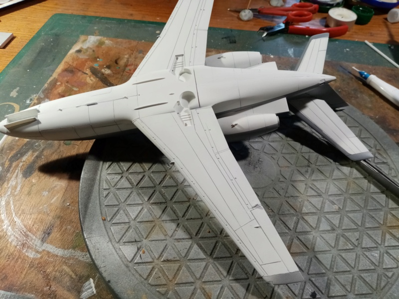 Dassault Falcon 10 - Revell -1/48 Img_2118