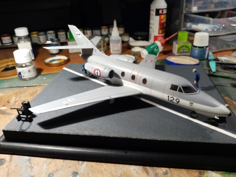 Dassault Falcon 10 - Revell -1/48 - Page 2 Img_2119