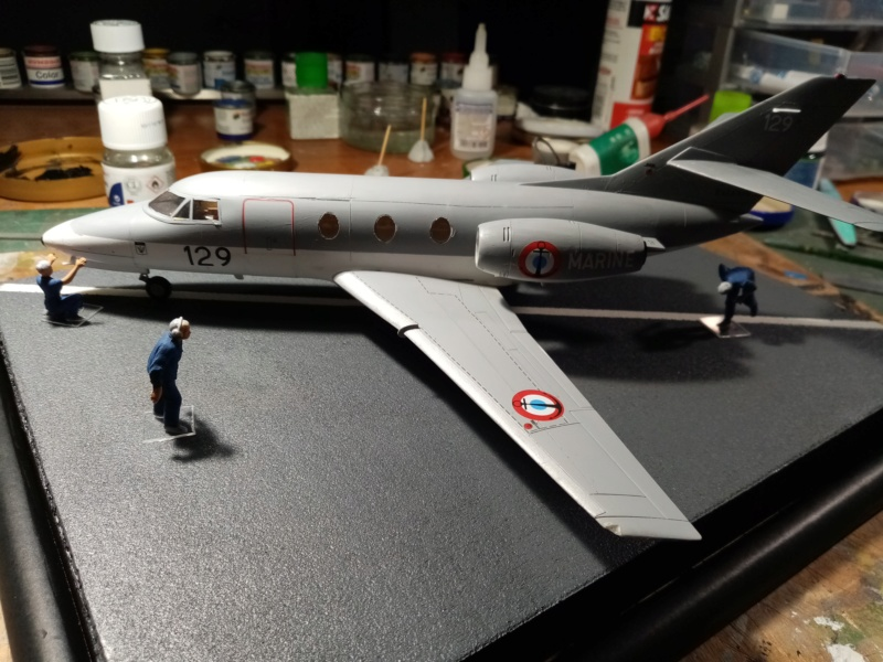 Dassault Falcon 10 - Revell -1/48 - Page 2 Img_2121