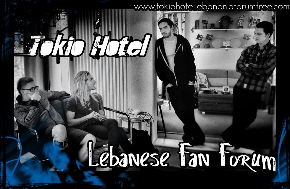 Tokio Hotel Lebanon Forum
