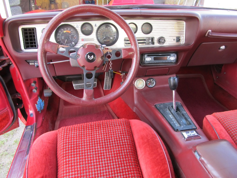 Pontiac Trans-Am 1981...à vendre!! Mai_2022