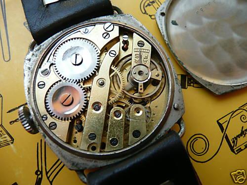 Conseil pour un bracelet à anses fixe pour une montre militaire dite de poilu Milita11