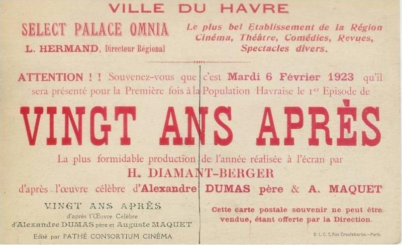 Les cinémas du Havre Pub13210