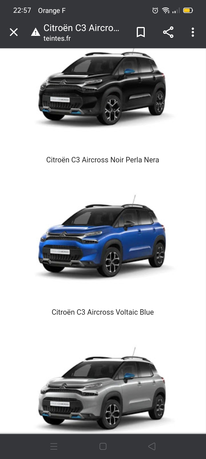 """2021 - [Citroën] """"C3 low-cost"""" [SC21] - Page 11 Screen44"""