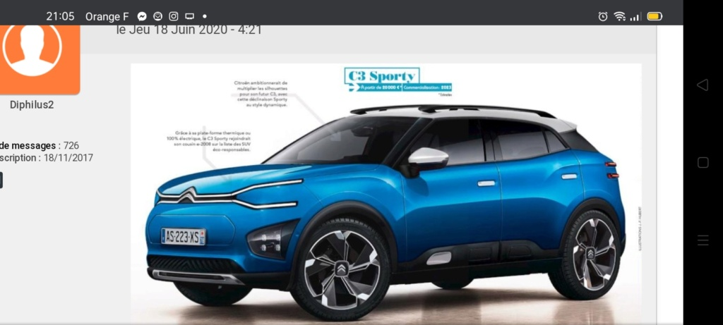 """2021 - [Citroën] """"C3 low-cost"""" [SC21] - Page 11 Screen45"""
