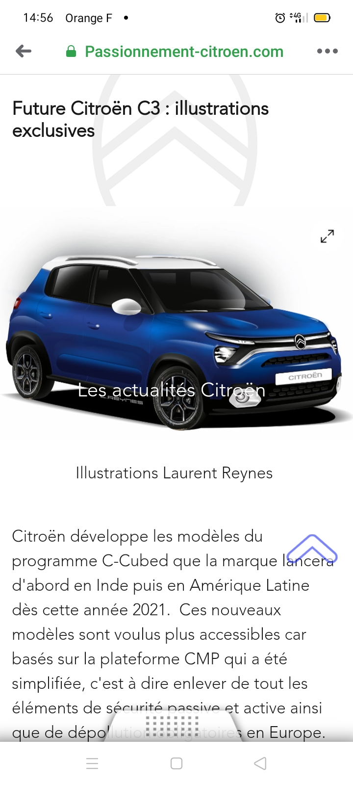 """2021 - [Citroën] C3 """"low-cost"""" (Inde/Mercosur) [SC21] - Page 14 Screen56"""