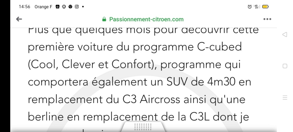 """2021 - [Citroën] C3 """"low-cost"""" (Inde/Mercosur) [SC21] - Page 14 Screen57"""