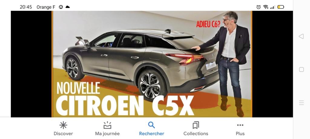 2021 - [Citroën] C5 III  [E43] - Page 40 Screen60