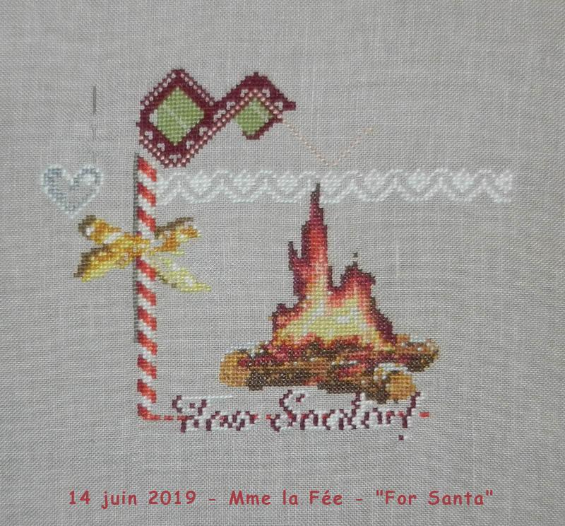 """SAL """"For Santa"""" de Mme la Fée - Page 2 2019-140"""