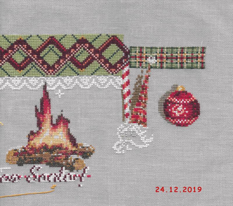 """SAL """"For Santa"""" de Mme la Fée 2019-316"""