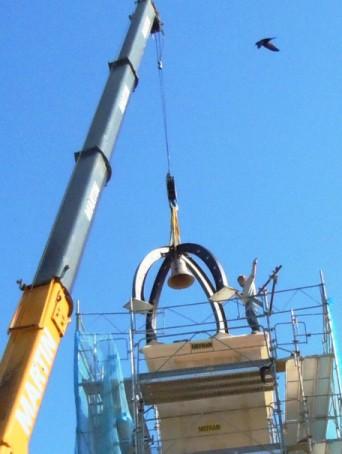 Démontage du campanile de l'horloge Le_cam11