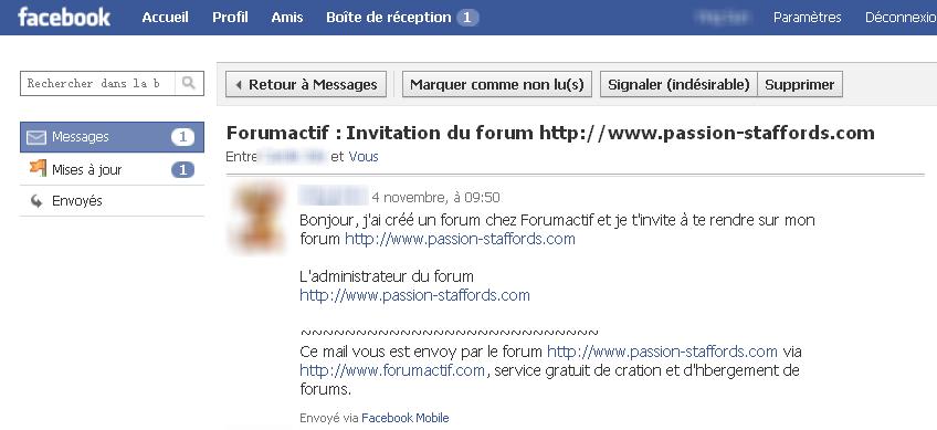 Promotion forum => invité vos amis => Facebook = BUG 05-11-12