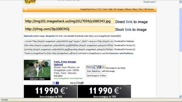 [Astuce] Insérer une image à l'aide d'ImageShack Image_19