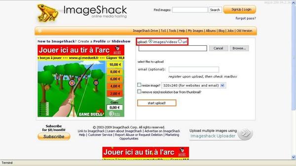 [Astuce] Insérer une image à l'aide d'ImageShack Images10