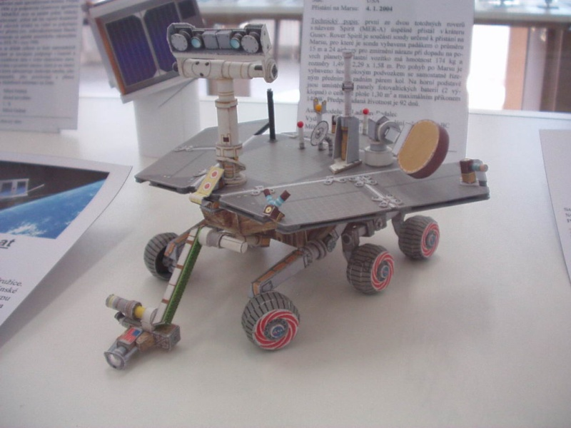 maquette Mars Exploration Rover ech 1/3 - Page 2 Modely10