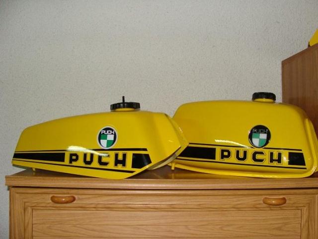 Puch MC50 especial 1ª Serie Pintur10