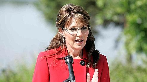 Sarah Palin en route vers la maison Blanche D6efb810
