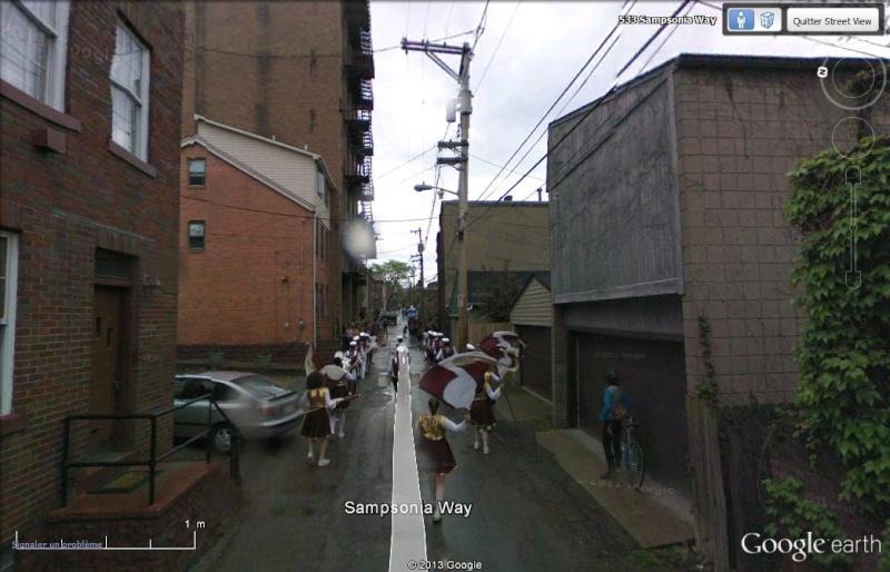 A sampsonia Way Pittsburgh Ils savent accueillir la Google car F410
