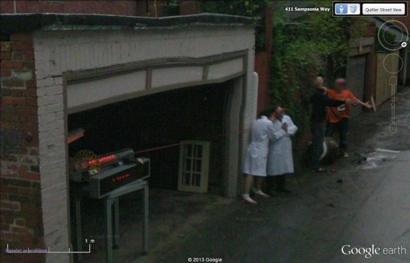 A sampsonia Way Pittsburgh Ils savent accueillir la Google car F610