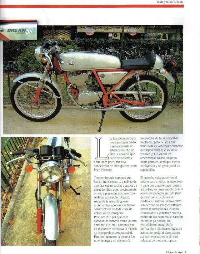 Honda Dream 50 R Honda110